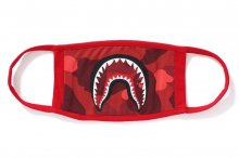 COLOR CAMO SHARK MASK