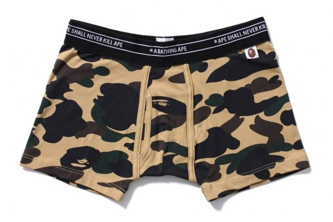1ST CAMO SHORT TRUNKS