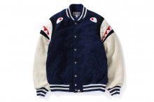 SHOULDER VARSITY SHARK JACKET