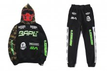 BMX MASK HOODIES PANTS PIECE SET
