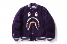 MELTON VARSITY SHARK JACKET