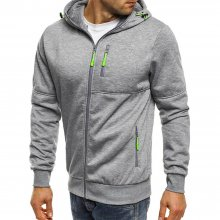 MULTI CAMO FULL ZIP FASHION HOODIE