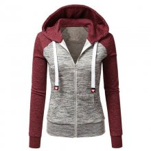 ABC FULL ZIP FASHION HOODIE