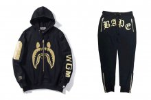 CITY COLLEGE HOODIES PANTS PIECE SET