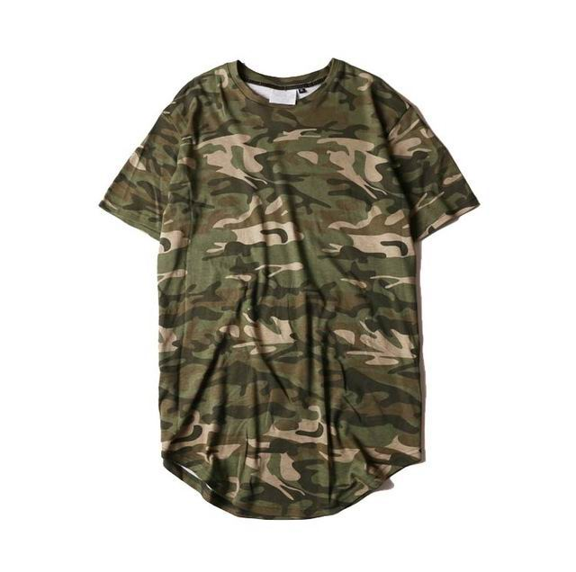 CAMO COLLEGE FASHION TEE